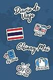 Diario de Viaje Chiang Mai: Diario de Viaje   106 páginas, 15.24 cm x 22.86 cm   Para acompañarle durante su estancia.