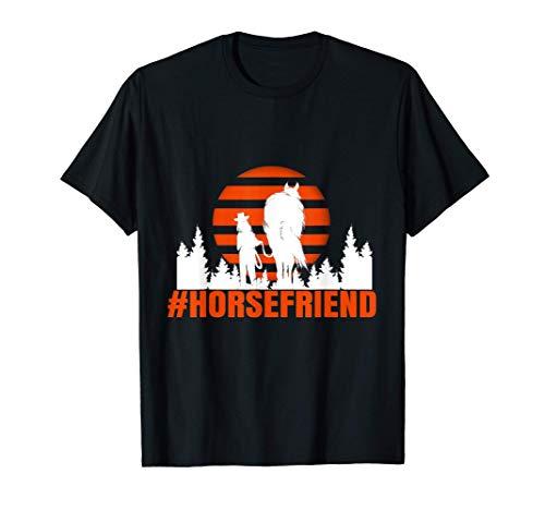 Pferdefreund - #HORSEFRIEND | Pferd Pferdebesitzer Stall T-Shirt