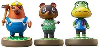 Mr. Resetti - Tom Nook - Kapp'n - Amiibo (Animal Crossing Series) for Nintendo Switch - WiiU, 3DS 3 Pack (Bulk Packaging) (Renewed)
