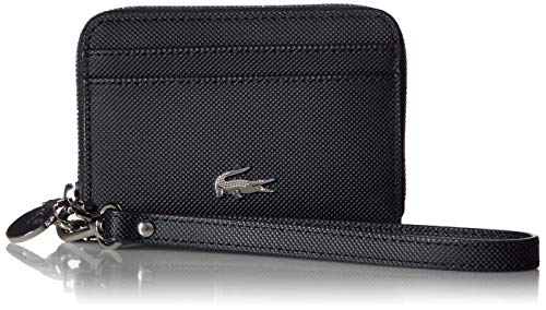 Lacoste Women Daily Classic XS Wristlet Zip, Black