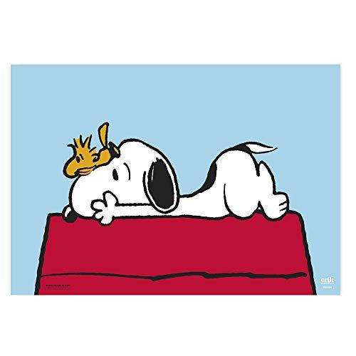 Vade Snoopy - Tapete escritorio, Protector escritorio - Producto con licencia oficial