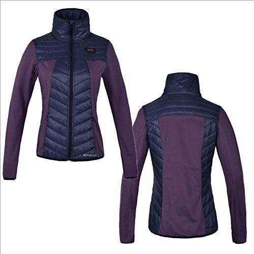 Kingsland Damenjacke KLklawock Kurze Jacke mit Stehkragen, Violet Größe XL