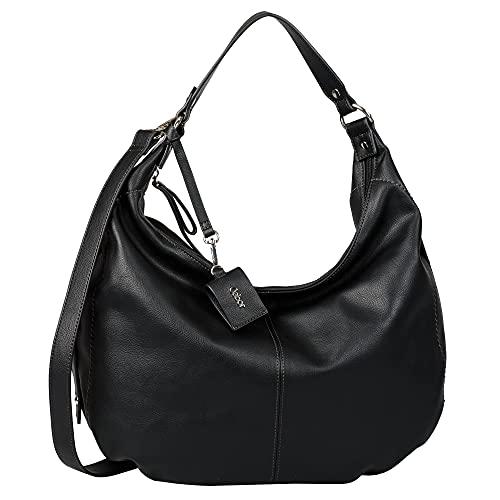 Gabor bags FERNANDA Damen Schultertasche one size, black, 42x14,5x33