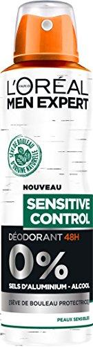 L'Oréal Men Expert Sensitive Control Déodorant Atomiseur Homme 200 ml