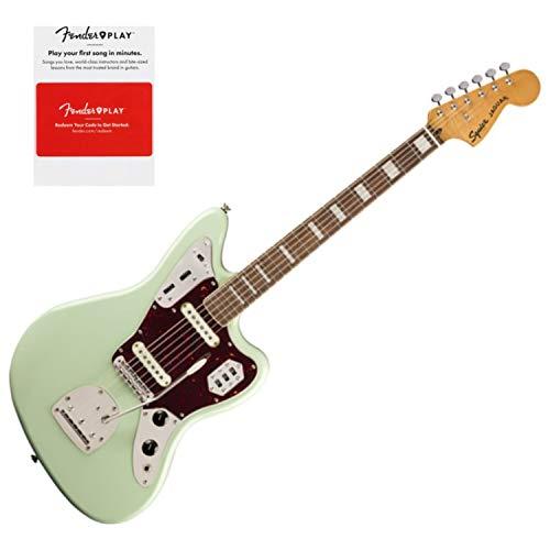 Squier 0374090557 Classic Vibe 70s Jaguar, Laurel Fingerboard, Surf Green w/Fe