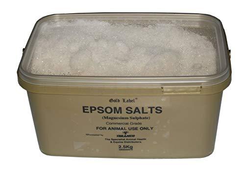 Gouden label Unisex's GLD0254 Epsom zouten, duidelijk, regelmatig