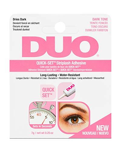 Ardell Duo Wimpernkleber Lash Adhesive, perfekter halt für künstliche Wimpern, das Original aus der Tube für perfekte Lashes, (7g, Dark/Dunkel)