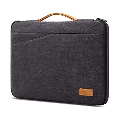 Civoten Laptop Hülle Tasche 13,3 Zoll Notebook Etui Wasserdicht schützend mit Handgriff für MacBook Air/13.5