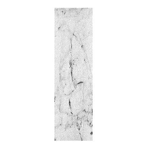 Regalo De Arte Piedra De Mármol Blanco Papel de Lija para monopatín Antideslizante Skateboard Grip Tape Hojia Cinta de Agarre Lijas 84x23cm para Longboard Scooter