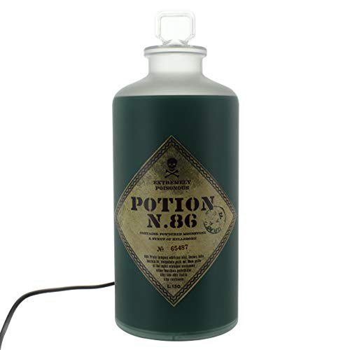 Harry Potter LAMPARA 3D Potion Bottle, Verde