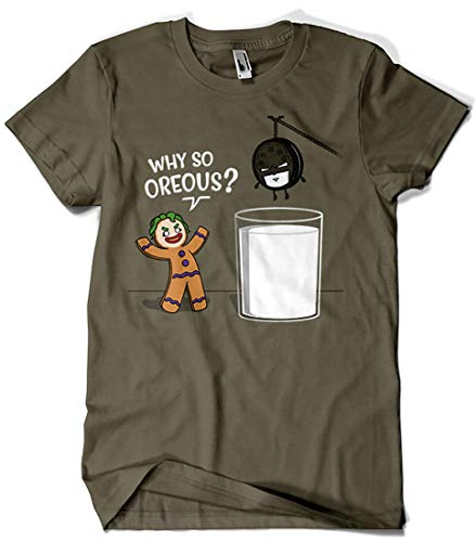 Camisetas La Colmena 6043-Why So Oreous? (Raffiti)
