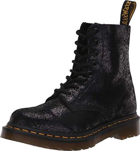 Dr. Martens Femme 1460 Pascal HDW Virginia Leather Black Bottes 38 EU