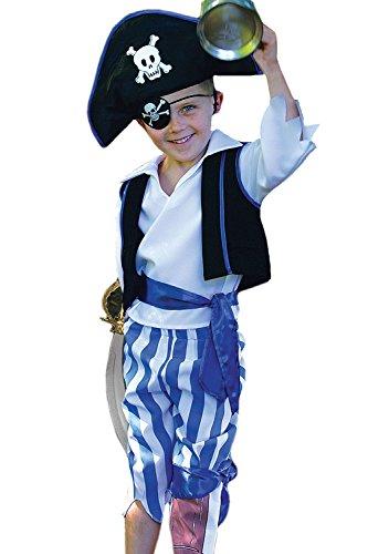 Travis - Deguisement Garçon - Deguisement de Pirate. Taille 6 / 8 ans.