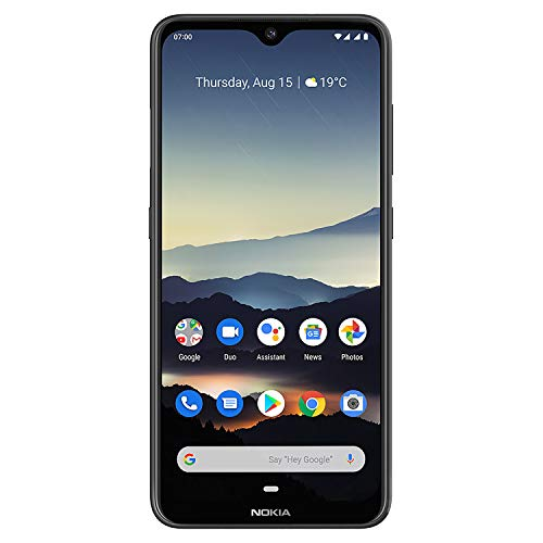 Nokia 7.2 - Android 9.0 Pie - 128 Go - Single SIM - Black