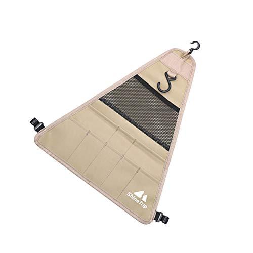 Abaodam Al aire libre Camping Vajilla Bolsa Picnic Cubiertos Cubiertos Organizador Colgante Bolsa