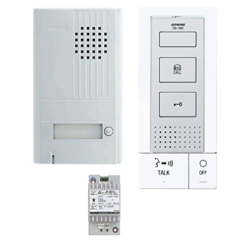 Aiphone DBS1AP - Kit de portero automático con interfono