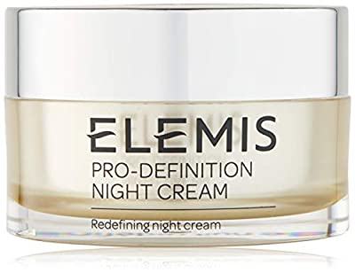 Elemis Pro-Collagen Definition Night Cream, Night Moisturiser to Plump, Firm and Nourish, Powerful Night Face Cream to Promote a Young, Even Complexion, Nourishing Face Cream for Women and Men, 50 ml from Elemis