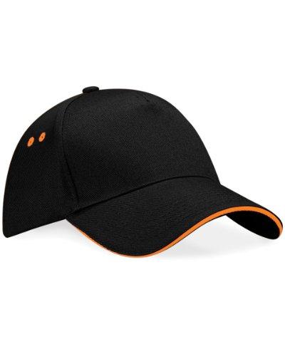 Beechfield B015 Ultimate Cap / Schirmmütze, 5Panels, Unisex, für Erwachsene, B15C, B15C Einheitsgröße