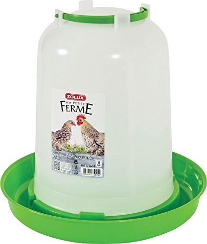 Zolux Abreuvoir Basse Cour Plastique pour Élevage/Agriculture Urbaine 8 L