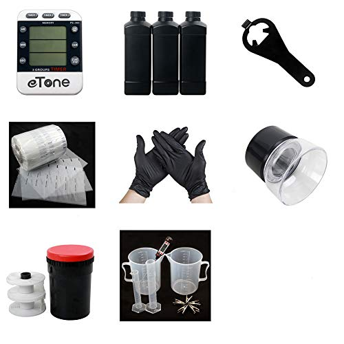 120 Color B&W Film Darkroom kit Processing Equipment Timer Clock Developing Tank Film Canister Opener Chemical Bottle