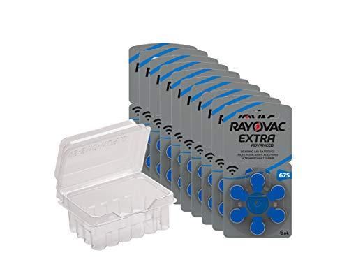 Rayovac 675 Extra Advanced 60 Batterie per Protesi Acustiche