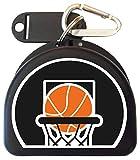 Zumoe Basketball Mouth Guard Case Mouthguard Case Retainer Case - Hoop