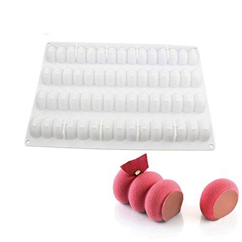 Modular Flex infinity rectangle en forme de vague cuisson et dessert Moule à gâteau en silicone mousse Poêle