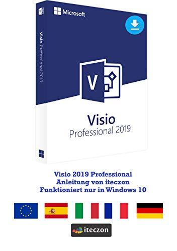 Visio 2019 Professional Vollversion Original Lizenzschlüssel per E-Mail + Anleitung von iteczon
