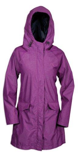 Tatonka Talina - Abrigo para Mujer, tamaño 38, Color Morado