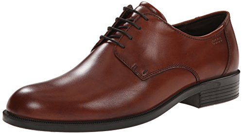Harold Plain-toe Oxford Shoes - Leather (for Men)