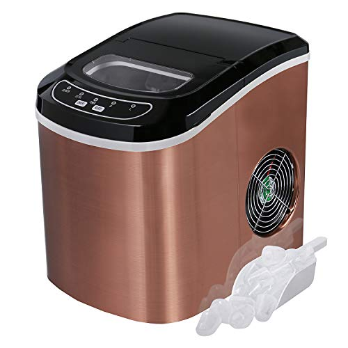 Portable-Ice-Maker-Machine-for-Countertop-Ice-Cubes-Ready-in-6-Mins-Make-26-lbs-Ice-in-24-Hrs-Perfect-for-Parties-Mixed-Drinks-Electric-Ice-Maker-22L-with-Ice-Scoop-and-Basket