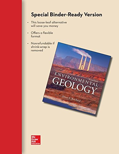 Loose Leaf Version for Environmental Geology with Connect Access Card