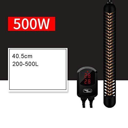 MU Termostato de frecuencia Variable Inteligente, Control Remoto Independiente Digital con Alarma, Agua Dulce y Marina,500W