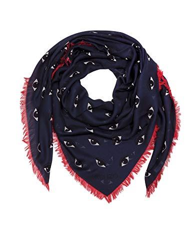 Kenzo Luxury Fashion Damen FA58EW440PFI73 Blau Modal Foulard | Frühling Sommer 20