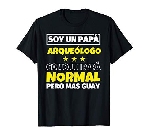 Hombre Arqueólogo Papá Regalo Camiseta