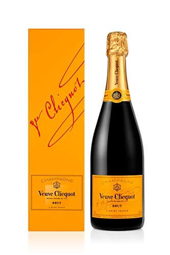 Veuve Clicquot Brut Yellow Label mit Geschenkverpackung, 0.75l