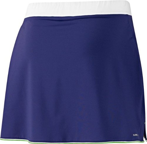 Adidas AdiPure ClimaLite - Falda de tenis para mujer Fresh Ink/White 40