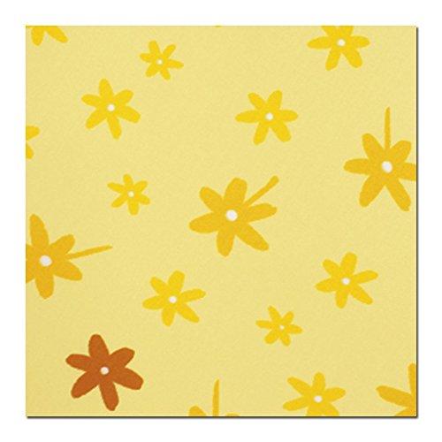 Theraline Bezug für Frühchenkissen 100x15cm, Blümchen_gelb