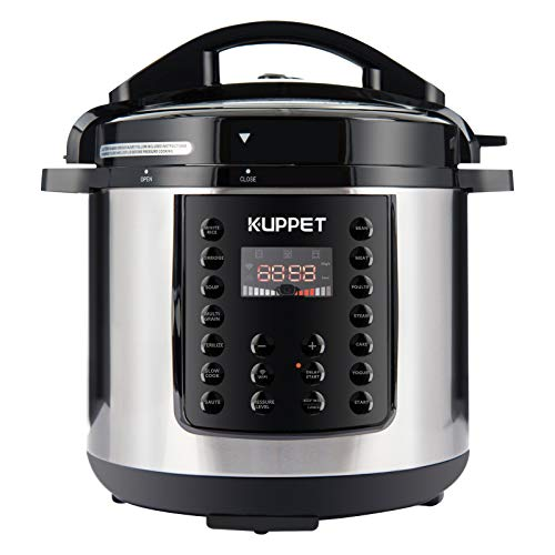 KUPPET 10-in-1 Electric Pressure cooker MultiPot, 6 Qt Multi use Programmable Multi Cooker, Rice...
