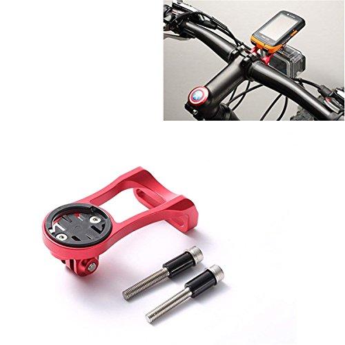 Supporto Choose per Manubrio di Bicicletta per navigatore Garmin 200, 500, 510, 800, 810, 1000 e Fotocamere Tipo (Rosso/Nero)