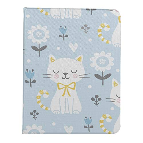 Case For Ipad Pro 11 Inch 2nd & 1st Generation 2020/2018 Magnetic Tablet Case Tulip Cute Cat Animal Ipad 11 Pro Case For Women Support Ipad 2nd Gen Pencil Charging
