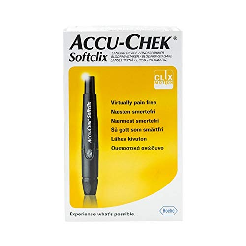 Accu Chek Softclix Lancing Device with 25 lancets