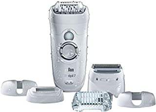 Braun Silk Epil 7 7-561 Wet And Dry Cordless Epilator With 6 Extras