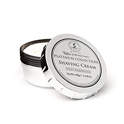 TAYLOR OF OLD BOND STREET Shave Cream, 150 g, Platinum by TAYLOR OF OLD BOND STREET