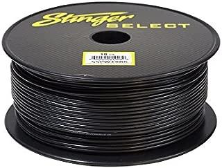Stinger SSPW18BK Black 18Ga Primary Wire Cable 1000'