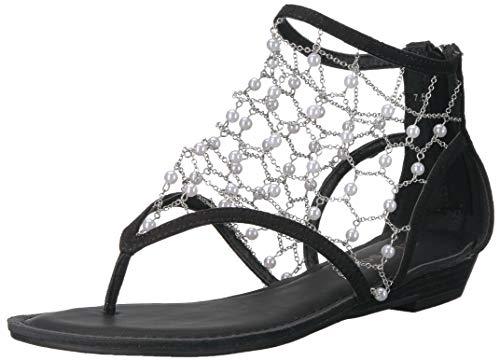 ZIGI SOHO Women's Madilyn Sandal, Black, 8 Medium US