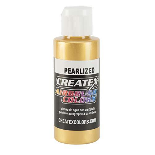 Createx Perle Satingold Airbrush Couleurs Couleur 120ml 12 5307