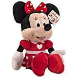 kidso Peluche Disney Mickey - Minnie édition Heart 30cm (Minnie)