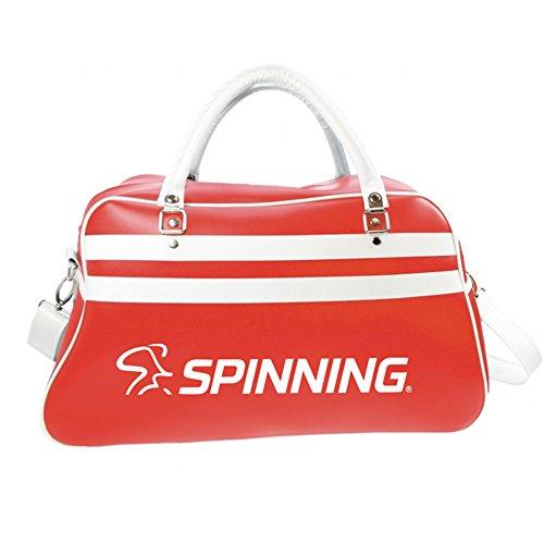 SPINNING® Unisex retrobag Retro Sport Tasche, Rot, 52x 3221