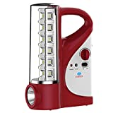 Everest Plastic LED Emergency Light, Red